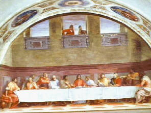 Last Supper Fresco